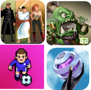 Project 5 included Hordes of Enemies, Dungeon Monsters, Tiki Taka Soccer, and Marbloid