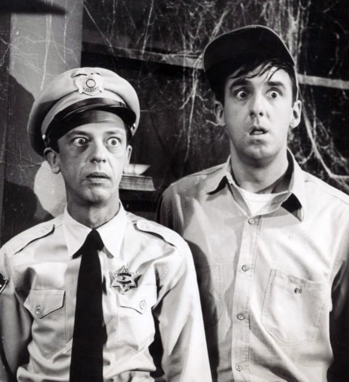 Don Knotts & Jim Nabors, 1964