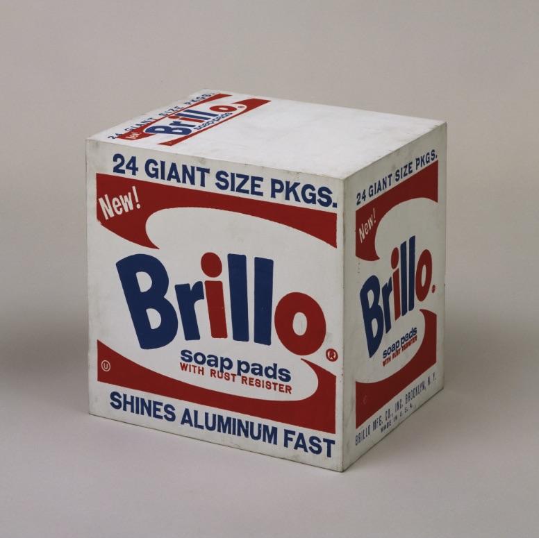 at MoMA (so it has to be art): Andy Warhol's   Brillo Box (Soap Pads)  , 1964