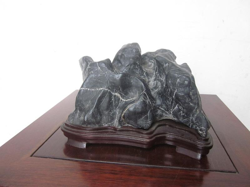 """Gongshi Scholar Stone: """"Mountain"""""""