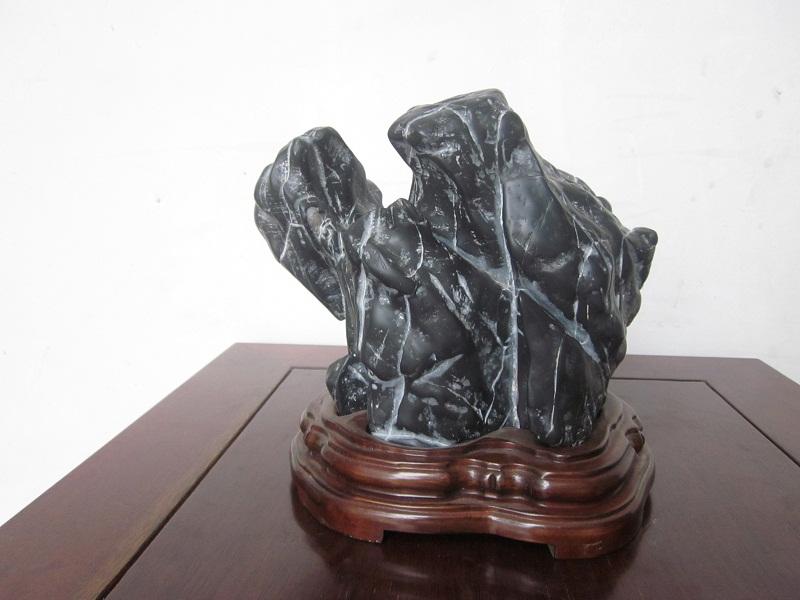 """Gongshi Scholar Stone: """"Tortoise"""""""