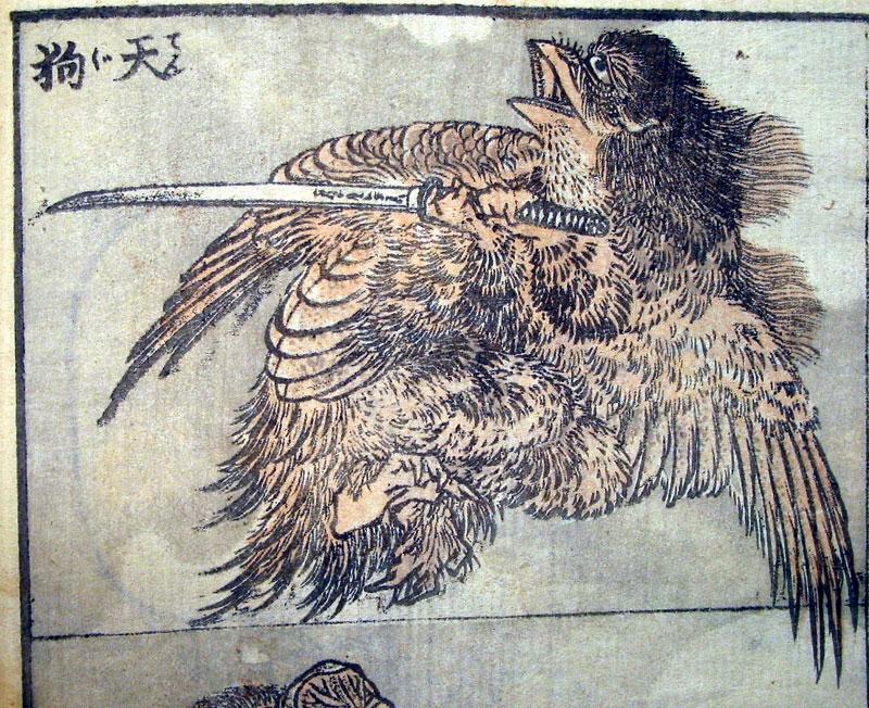 Katsushika Hokusai : Japanese Tengu