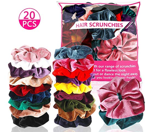 Set of 20 Scrunchies