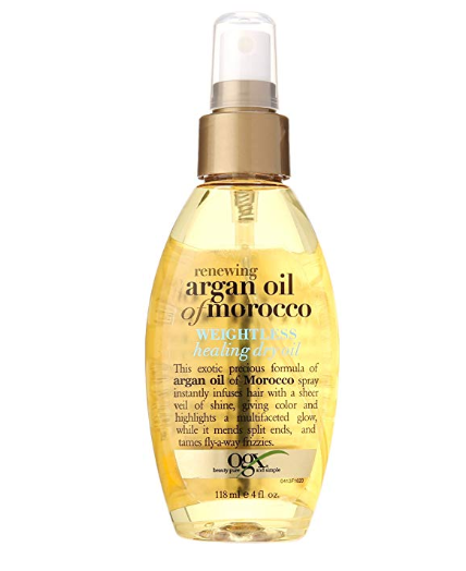 Organix Ogx Moroccan Argan Oil Weightless Dry Oil