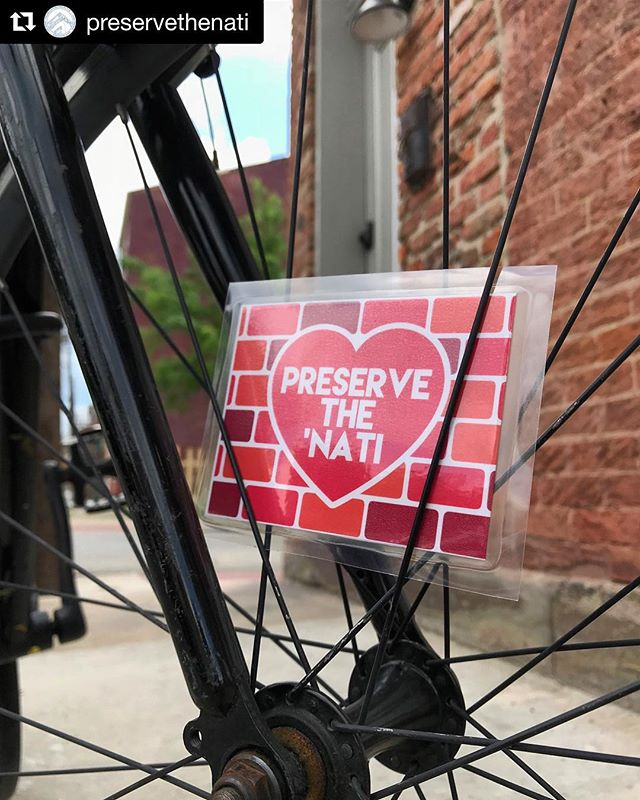 @preservethenati annual Preservation ride is today. Meet at 1 pm at @landlockedsocialhouse. Using a @cincyredbike? Meet at 12:30pm at the Red bike kiosk on Daniels street by UC for a longer ride.  #Repost @preservethenati with @get_repost ・・・ Reminder! Today is our 5th Annual Preservation Ride to celebrate not only Bike Month but also Preservation Month! We have new spoke cards and a new location out of the basin! We will be starting at @landlockedsocialhouse, exploring Walnut Hills, East Walnut Hills, Evanston, then ending up at @firesidepizzawh . There will be all sorts of learning and site seeing along the way. The route and details are on our Facebook event page, check out the link in our bio! We also have special news from @cincyredbike to waive all late fees for the day so you can rent and ride with us all day! More info on that on Facebook as well. We are so excited and can't wait to see you! #preservethenati #cincybikemonth #preservationmonth #sundayfunday