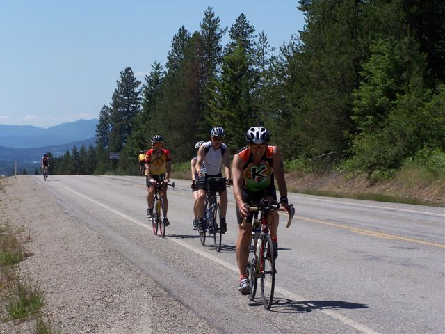 Road Bike in the Kootenays