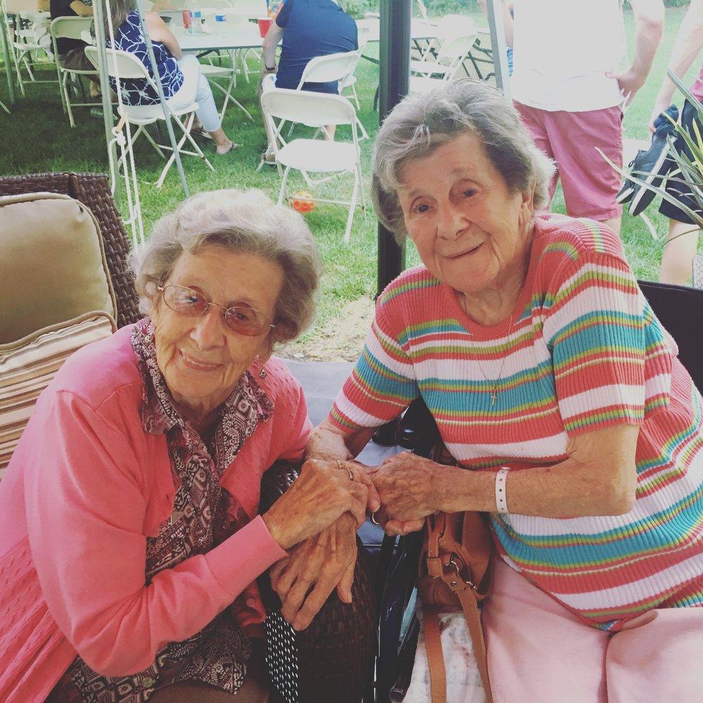 Auntie Joyce and Gram