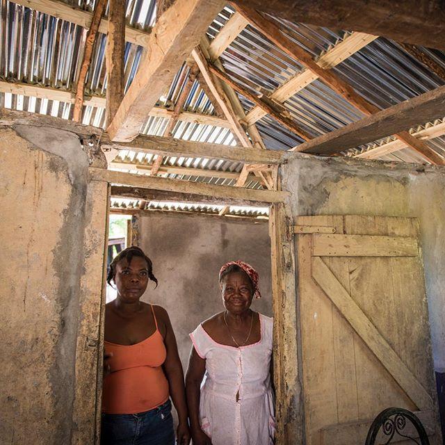 Des nouvelles du Fonds Urgences Haiti pour l'ouragan Matthew #MainDansLaMainPourHaiti PostMatthew Photo prise par le Centre d'Étude et de Coopération Internationale