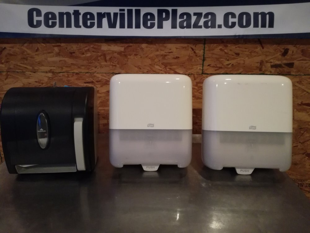 GEORGIA-PACIFIC  Paper Towel Dispensers, Holds (1) Roll. $20 each - Multiple New in box Georgia-Pacific & TORK Brand paper towel roll dispensers. Excellent commercial grab and pull down towel units. These do not require electricity and have few breakable parts. Easy to install, works with most paper towel refills and Roll Towel numbers: G2341997, G0616524, G2569436.  15+ units available.