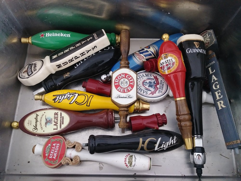 Beer Tap Handles $5