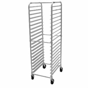 20 Pan Rack Commercial Dough Baking Bun Sheet Rack $100  - Aluminum rack on wheels.  Only one left. Great for a bakery.