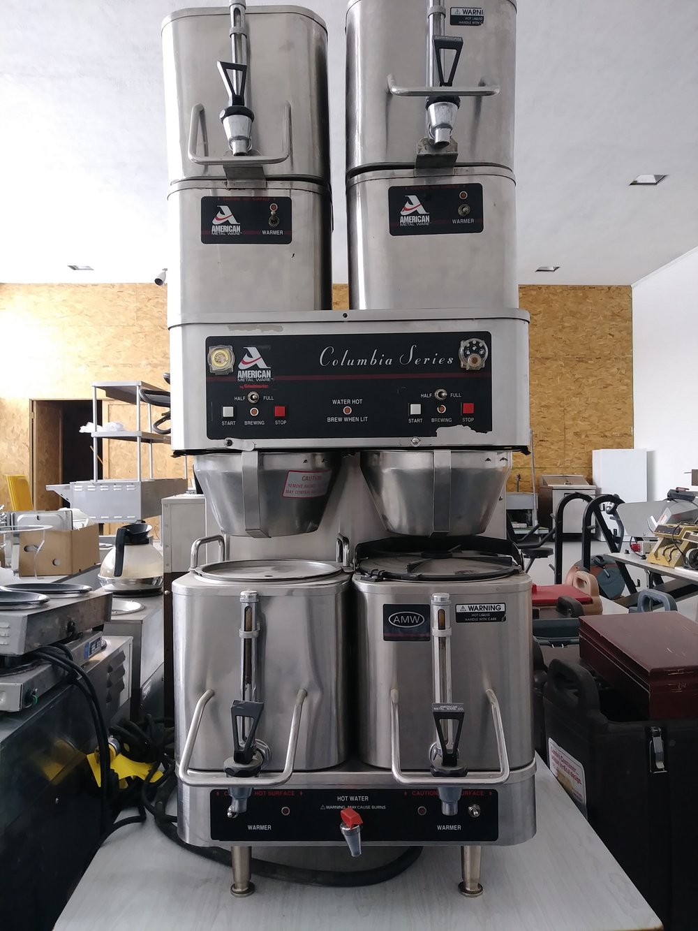 AMW Commercial Coffee Maker $150