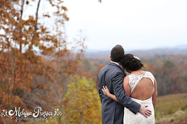 This weekends wedding was fall magic....