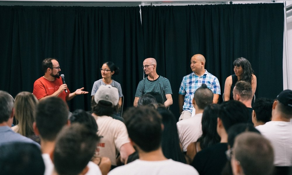 Asian American Fermentation Panel Discussion at Happy Family Night Market 2018 - Photo by Janice Chung