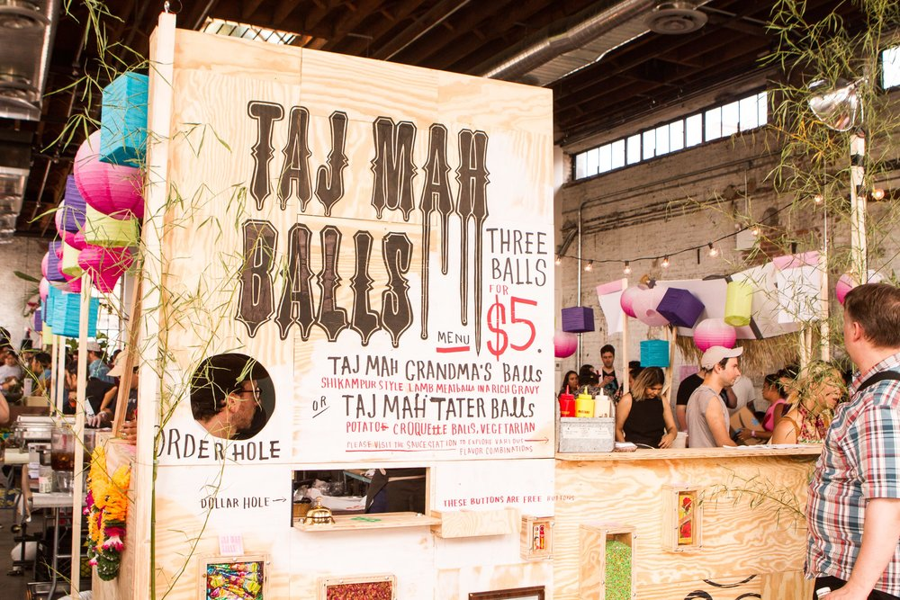 Taj Mah Balls Happy Family Night Market 2018 Photo by Janice Chung
