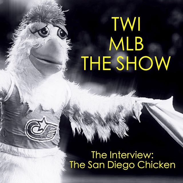 NEW PODCAST! Link in bio 👇 Coop interviews the 🐐! The actual man himself, Ted Giannoulis, the World Famous San Diego Chicken! 🐔 🐔 🐔  #mlb #sandiego #chicken #mascots #baseball #theshow18 #mlbtheshow #theshow #sandiegochicken #allstargame #cubs