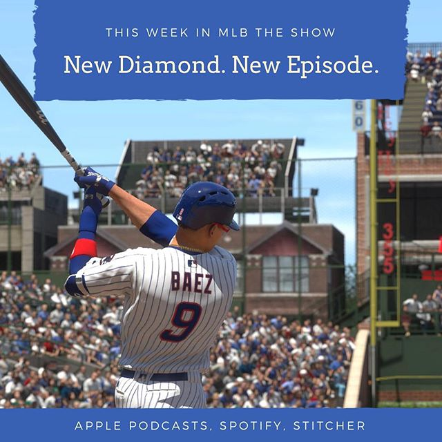 New podcast episode out now! We discuss the latest roster update and the ascension of Javy Baez! Plus the new event, the spectre of Madden, & more! Link in bio 👇 #theshow18 #mlbtheshow #mlb #mlbtheshow18 #cubs #javybaez #madden19 #contentcreator #podcasts #baseball