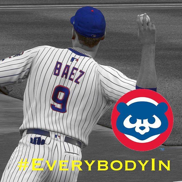 #everybodyin #cubs #mlb #playoffs #mlbtheshow #mlbtheshow18 #theshow18 #javybaez