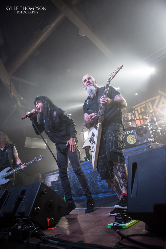 Anthrax @ The Ranch Roadhouse - February 19th 2018