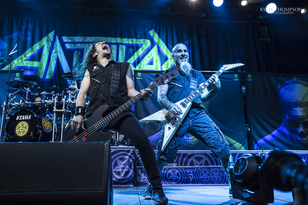 Anthrax @ Shaw Conference Centre - May 20th 2018