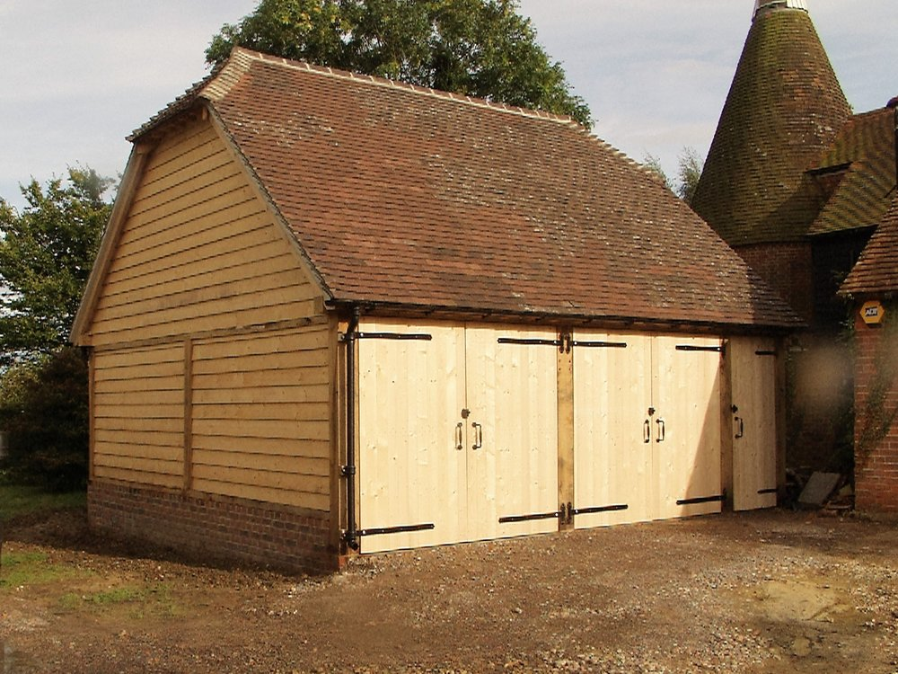 Oak Framed Barns - Click for more information.