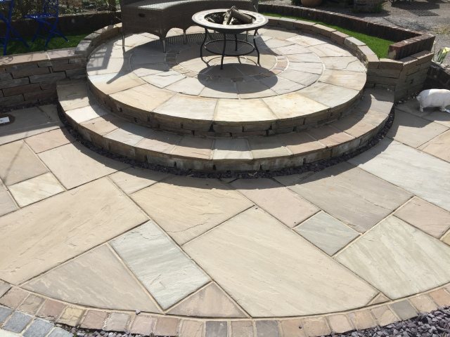 Raj-Mix Indian Sandstone Circle