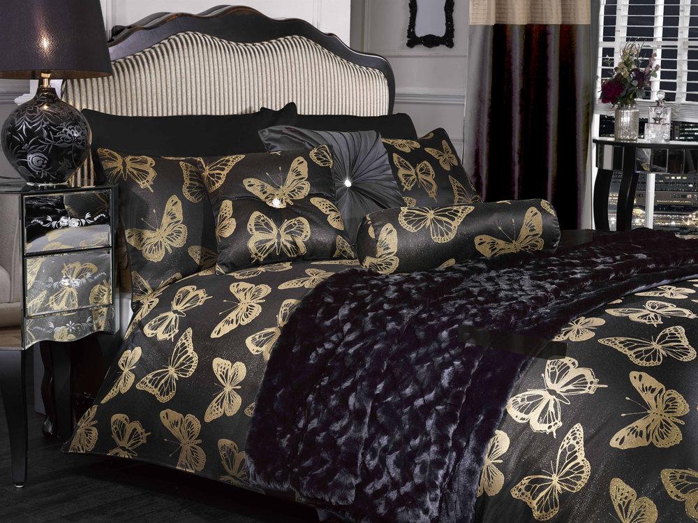 Gold Butterfly bedset Range.jpg