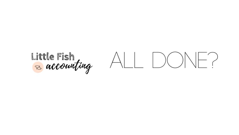 Little Fish Upload Complete