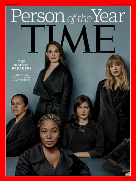 Time Person of the Year - The Silence Breakers
