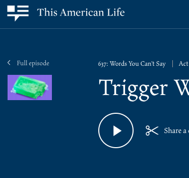 This American Life    In this episode, By Dana Chivvis, Dodie Horton is a dyed-in-the-wool, glock-toting, blood-red Republican from Louisiana. So why are her fellow Republicans calling her a RINO (Republican In Name Only) and saying that she's trying to take away their Second Amendment rights? Producer Dana Chivvis reports. (25 minutes)