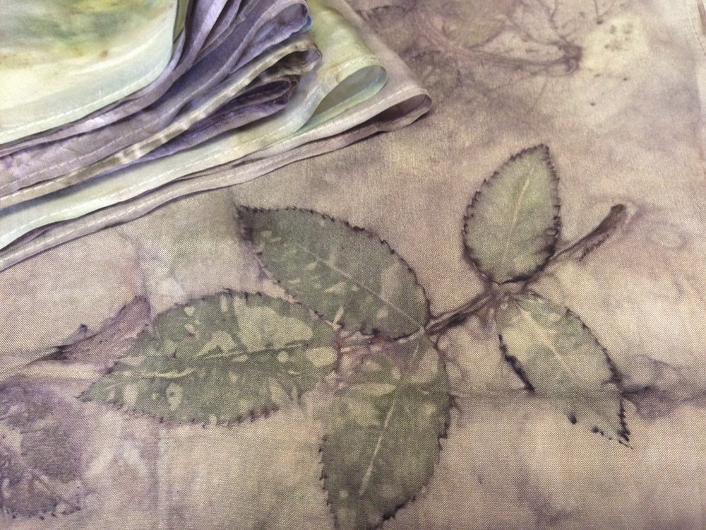 Botanical Prints & Eco Dyeing  October 20th 2018  Make it in Wales at Ystrad Farm, Brechfa, Carmarthenshire  for more info and bookings book  here