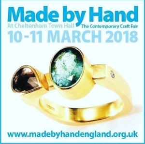 Made by Hand Cheltenham   A fantastic new event in the stunning town hall of Cheltenham, have to say what a fantastic show it was too