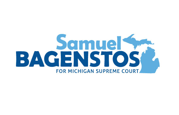 Logo: Samuel Bagenstos for Michigan Supreme Court