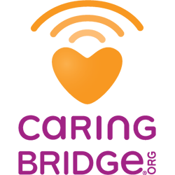 Joyce gives to Caring Bridge, a nonprofit dedicated to easily facilitating communication between Cancer patients and their families.