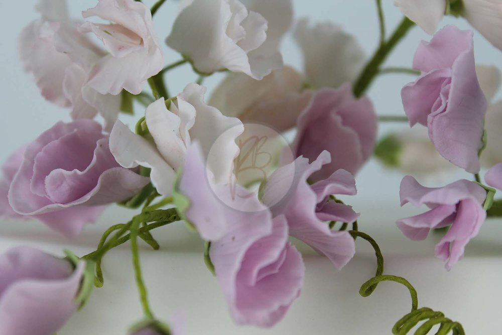Simply Sweet Peas Detail 2