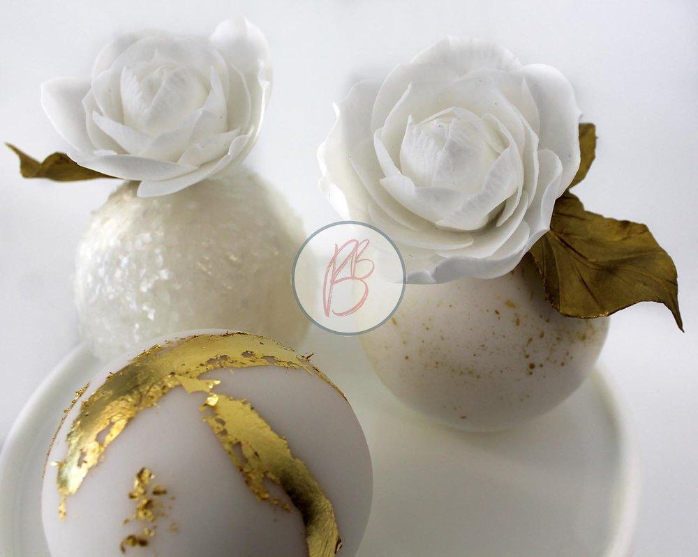 Mini Sphere Cakes Detail 4