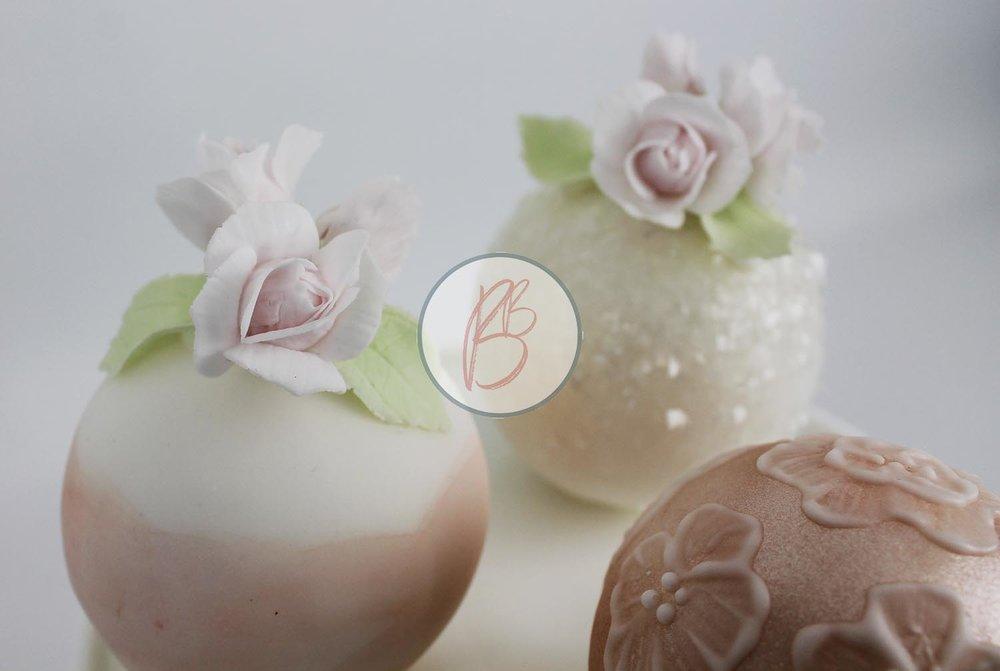 Mini Sphere Cakes Detail 2