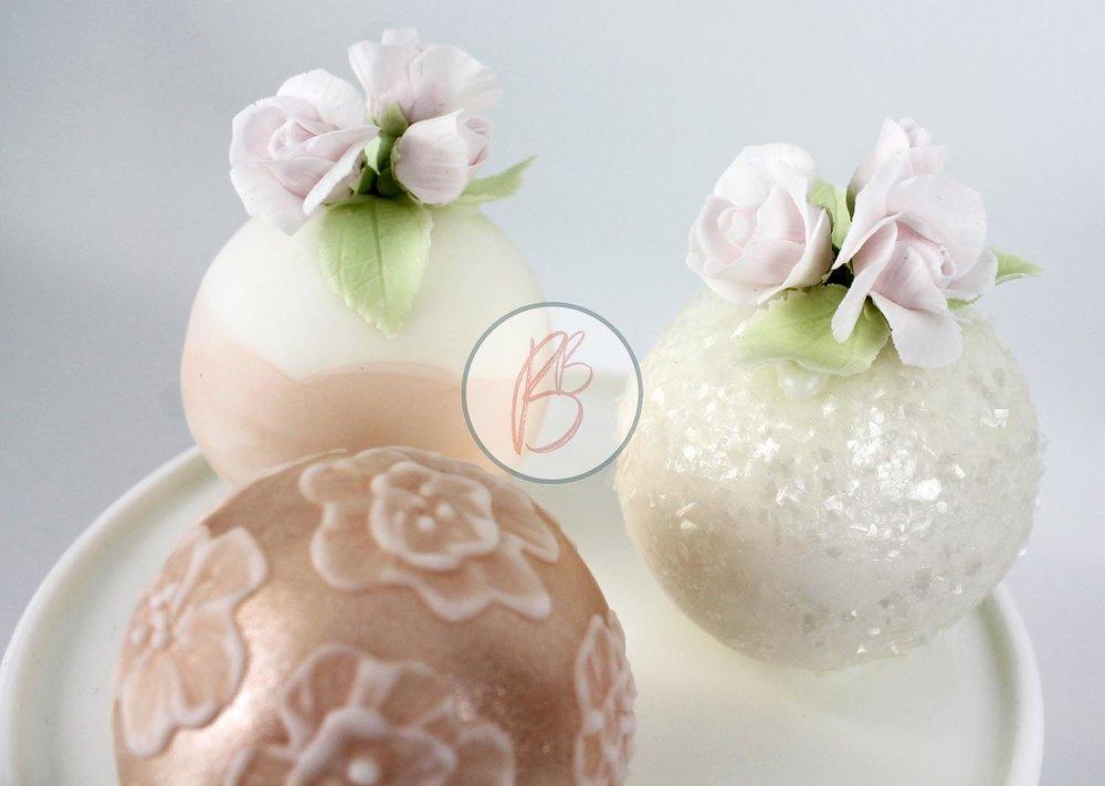 Mini Sphere Cakes Detail 1