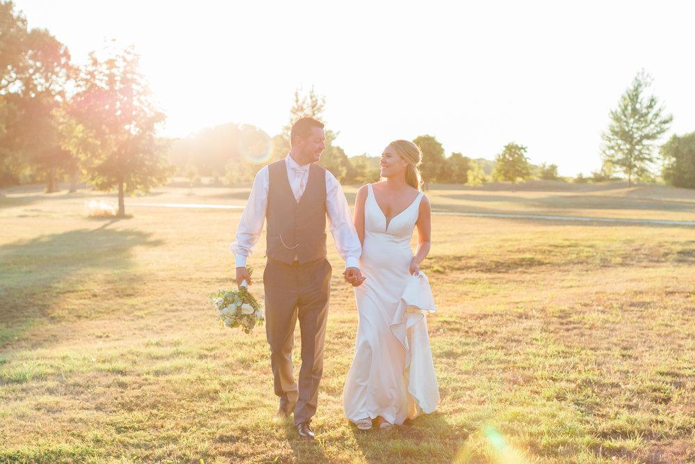 beautiful sunset bride and groom somerset.jpg