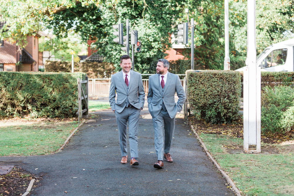 grey and berry groom outfit.jpg