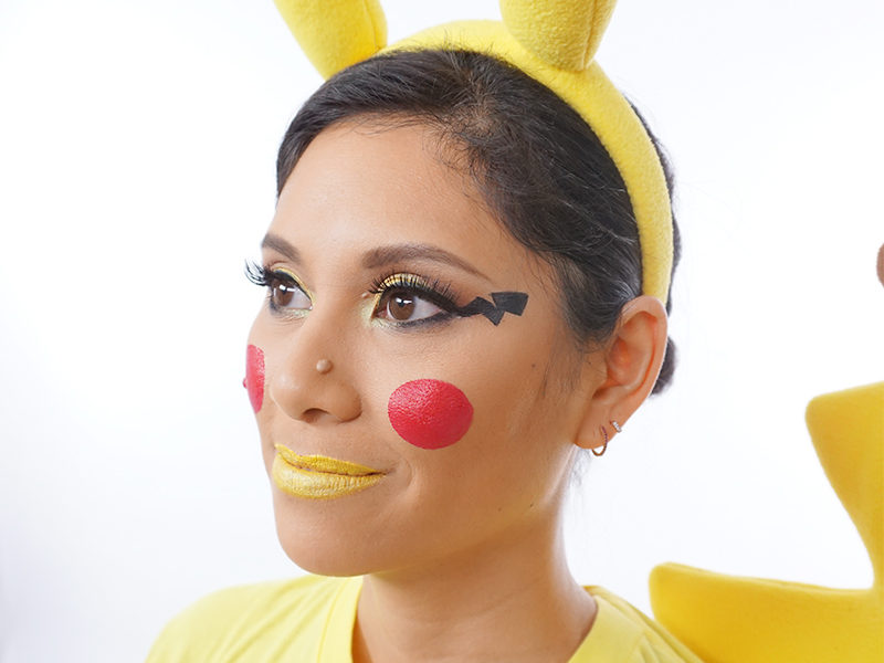 Makeup Tutorial An Adorable Pikachu Beauty Look You Can Do Yourself Mixed Makeup
