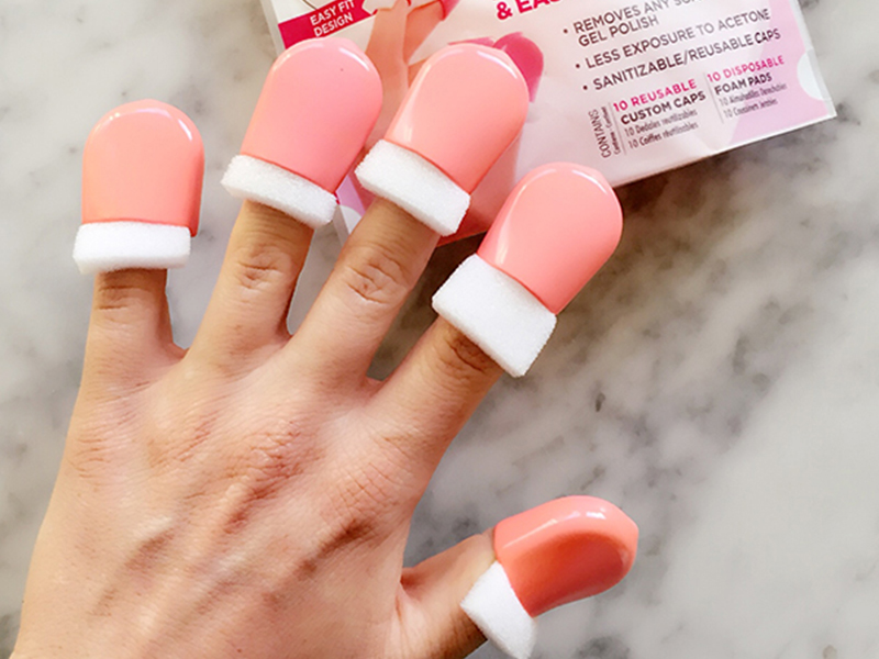 These Nail Caps Make It a Cinch to Remove Gel Polish at Home — Mixed ...
