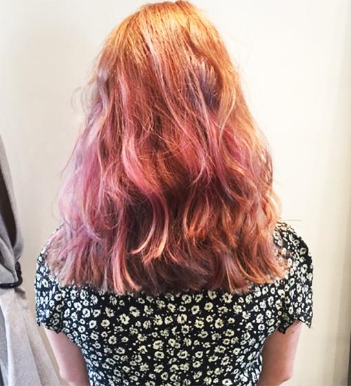 pinkhairback