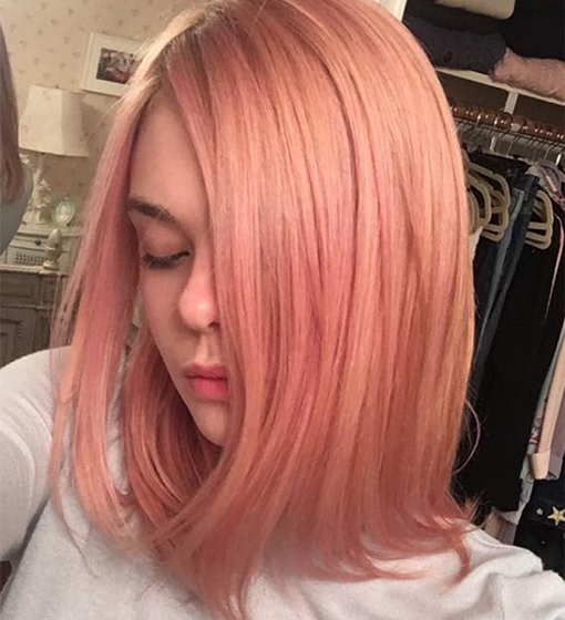 rose-gold-hair-elle-fanning