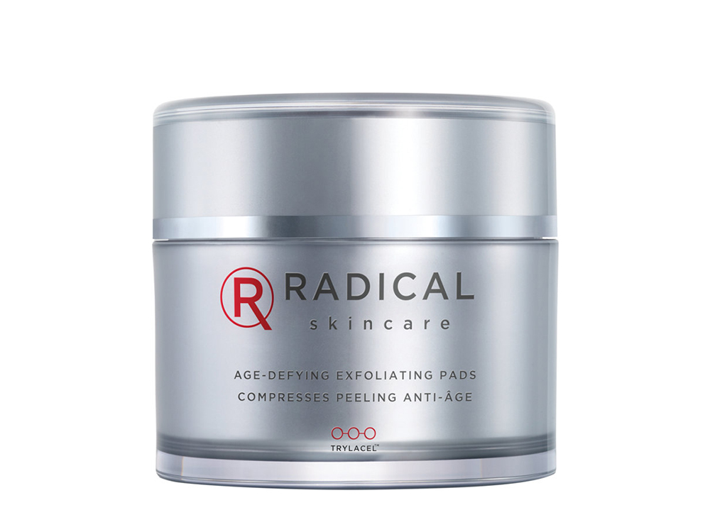 Radical Skincare Age-Defying Exfoliating Pads, 60 pads for $75. Image: Radical Skincare
