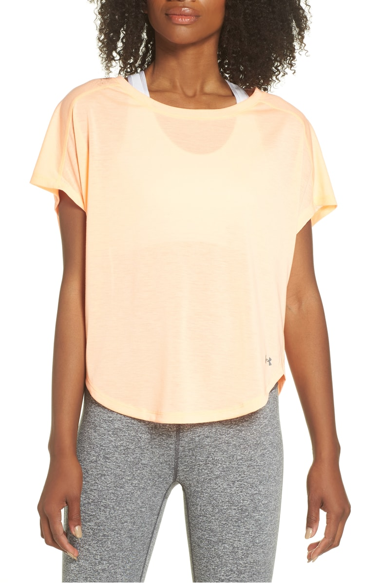 Under Armour Whisperlight Tee $30