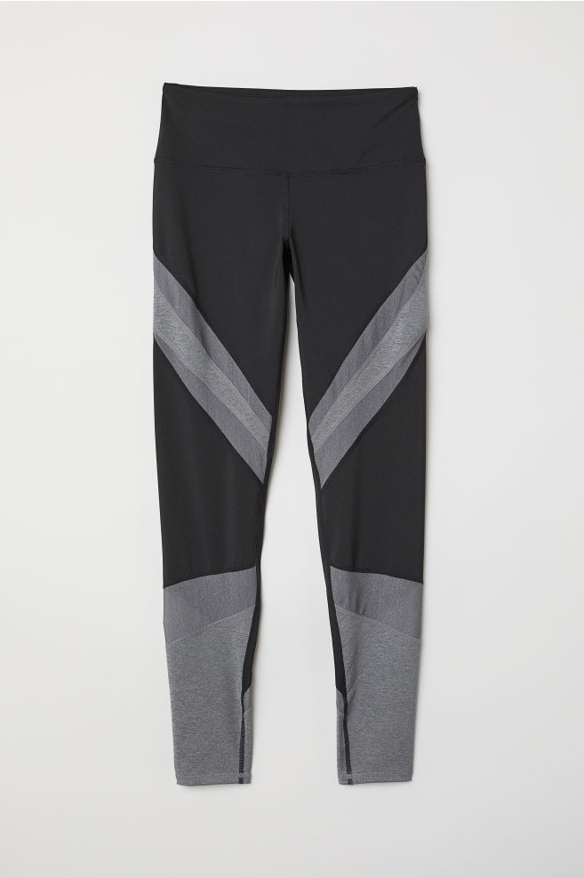 H&M Shimmering Yoga Tights $35