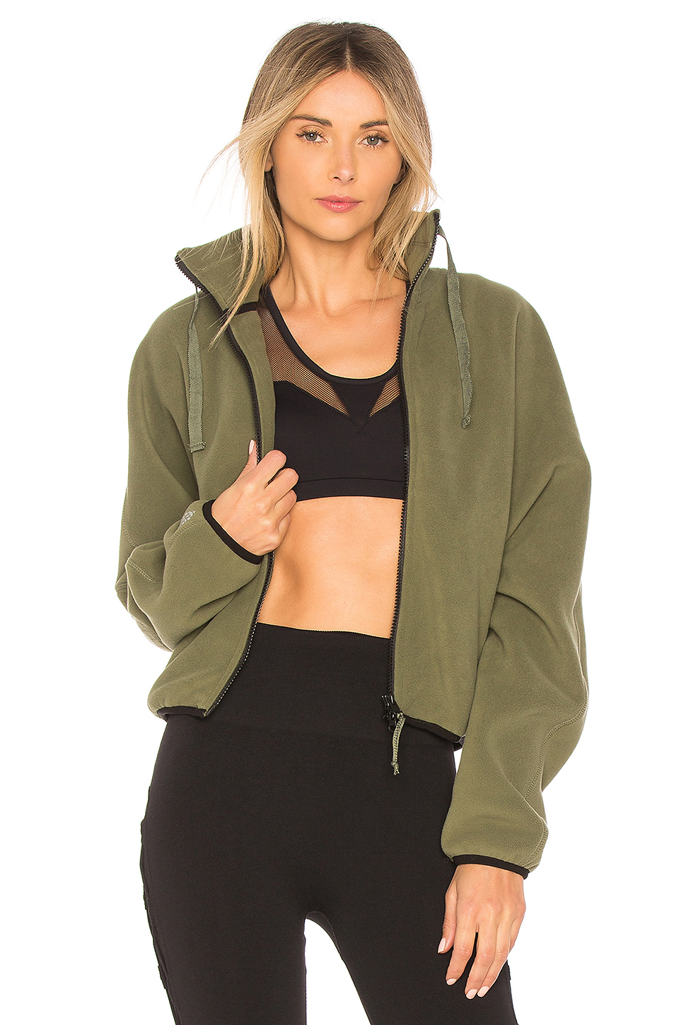 Free People Fleece Zip Up $125