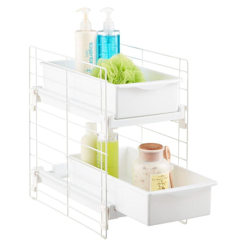 Sliding 2-Drawer Organizer $20