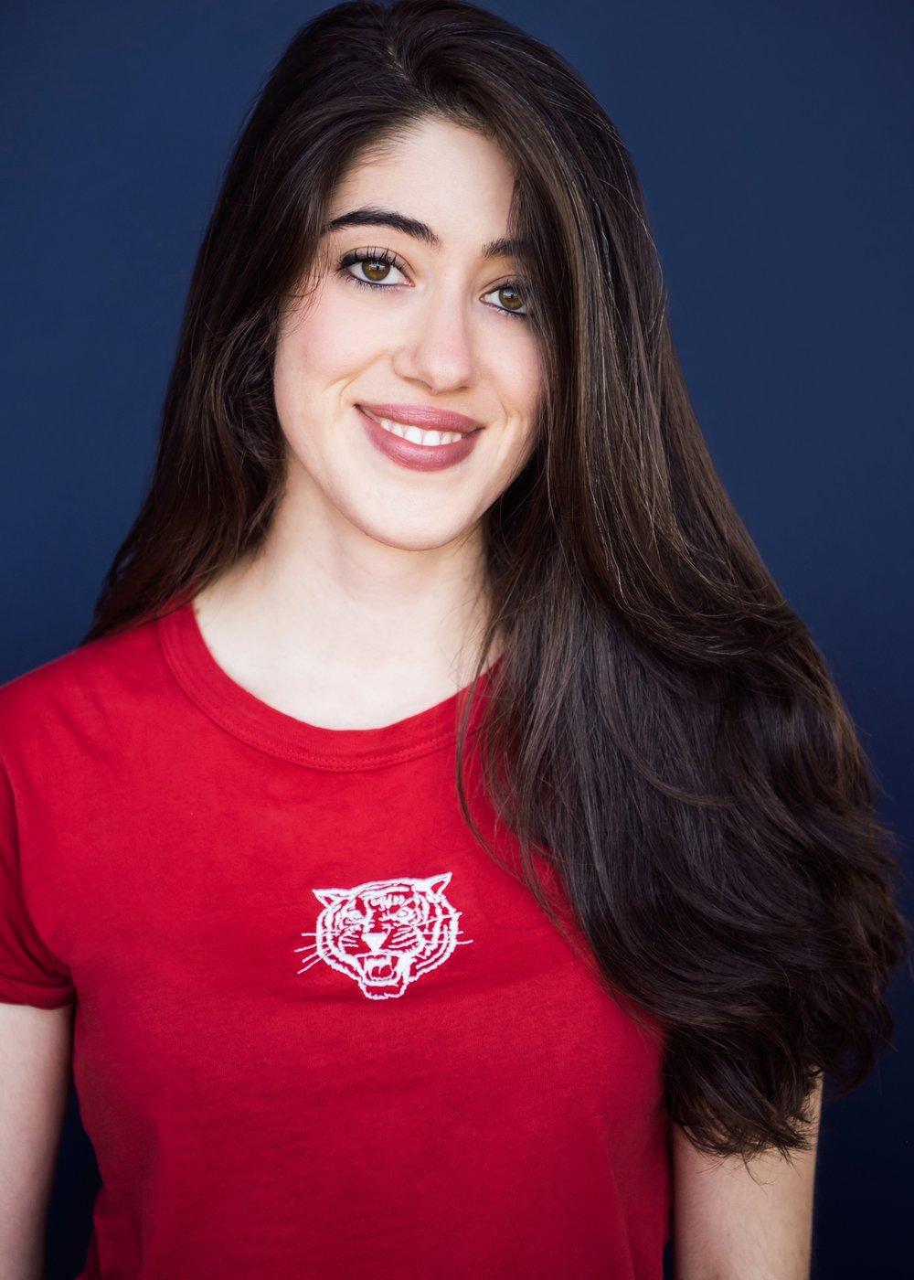 Sarah Khasrovi as Ovary/Poet/Student